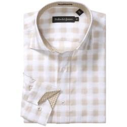 Bullock & Jones Cotton Plaid Shirt - Spread Collar, Long Sleeve (For Men)