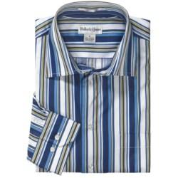 Bullock & Jones Modern Bar Stripe Shirt - Long Sleeve (For Men)