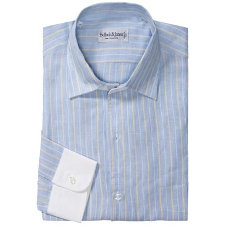 Bullock & Jones Salinetti Stripe Shirt - Linen, Long Sleeve (For Men)
