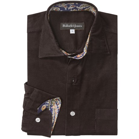 Bullock & Jones Corduroy Shirt - Long Sleeve (For Men)