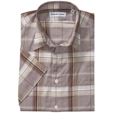 Bullock & Jones Cotton Shirt - Short Sleeve (For Men)