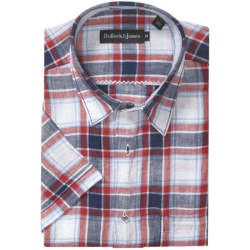 Bullock & Jones Linen Shirt - Short Sleeve (For Men)