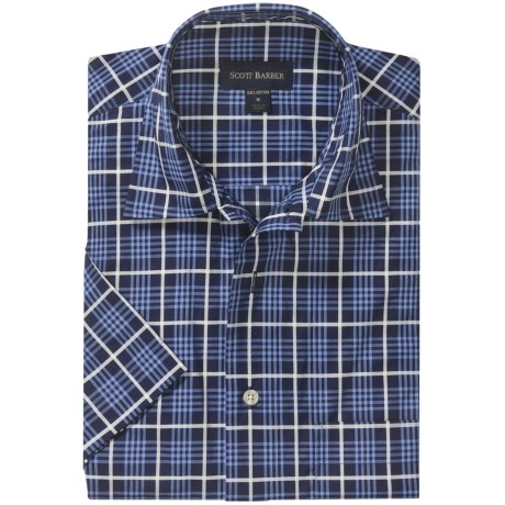 Scott Barber Cotton Camp Shirt - Short Sleeve (For Men)