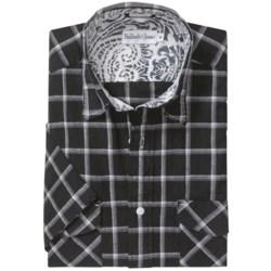 Bullock & Jones Cotton-Linen Sport Shirt - Short Sleeve (For Men)