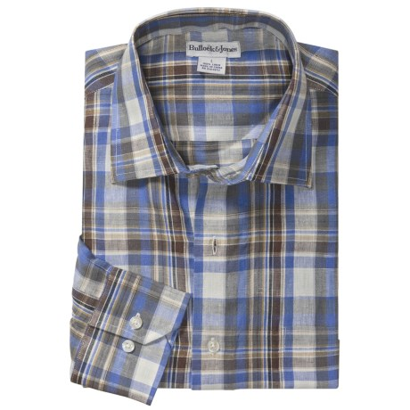 Bullock & Jones Linen Sport Shirt - Long Sleeve (For Men)
