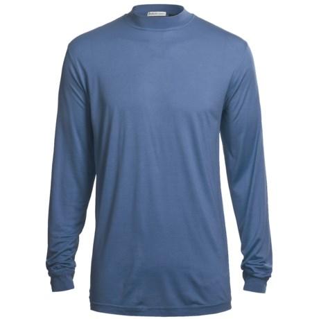 Bullock & Jones Silk T-Shirt - Long Sleeve (For Men)
