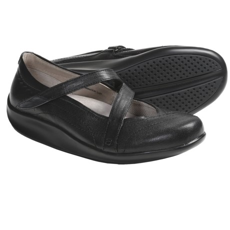 Aravon Lucie Mary Janes - Leather, Cross Strap (For Women)