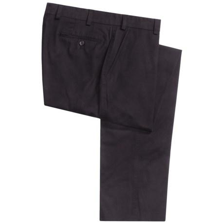 Bullock & Jones Wrinkle-Free Trouser Pants - Stretch Cotton (For Men)