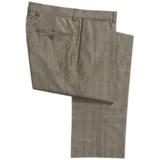 Bullock & Jones Plaid Pants - Wool-Cashmere (For Men)
