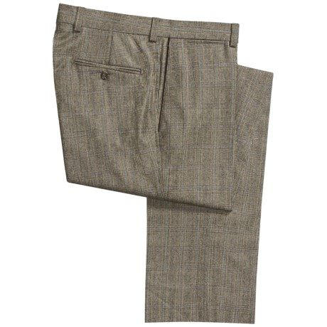 Bullock & Jones Plaid Pants - Wool-Cashmere (For Men)