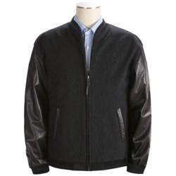 Bullock & Jones Luxury Baseball Jacket - Wool (For Men)