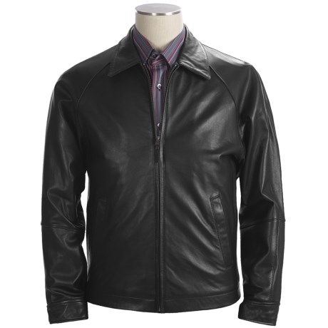 Bullock & Jones Lambskin Leather Jacket (For Men)