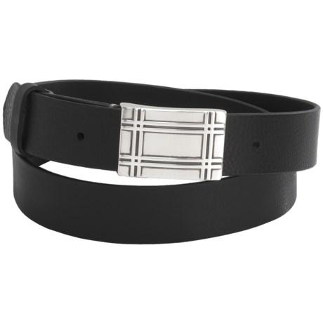 Bullock & Jones Leather Belt (For Men)
