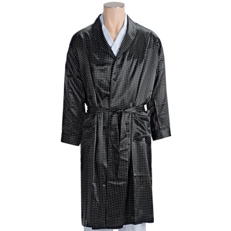 Bullock & Jones Dot Robe - Silk (For Men)