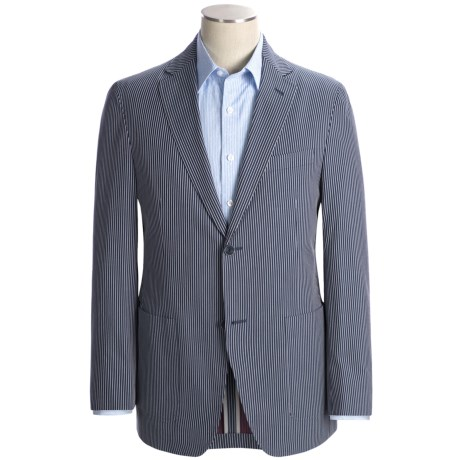 Bullock & Jones Stripe Sport Coat - Cotton (For Men)
