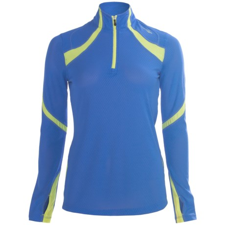 Saucony Transition Sportop II Pullover - Long Sleeve (For Women)