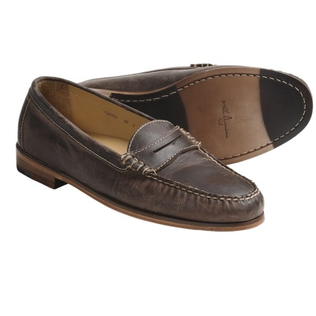 Martin Dingman Barnes Shoes - Penny Loafers (For Men)