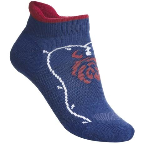 Point6 Rose Micro Socks - Merino Wool Blend, Lightweight (For Women)