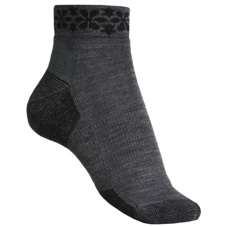 Point6 Daisy Row Socks - Merino Wool, Ankle (For Women)