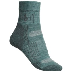 Point6 Hiking Tech Socks - Merino Wool Blend, Lightweight, Mini Crew (For Women)