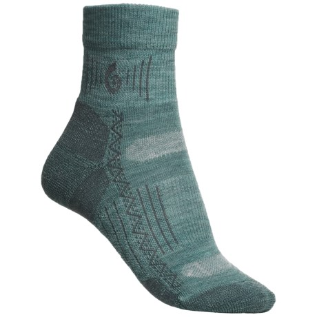 Point6 Hiking Tech Socks - Merino Wool Blend, Lightweight, Mini Crew (For Women)