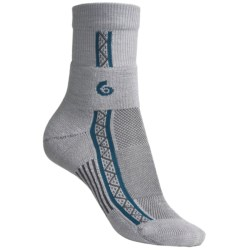 Point6 Running Lightweight Socks - Merino Wool, 3/4-Crew (For Women)