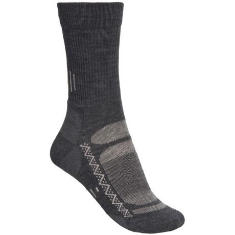 Point6 Active Light Cushion Socks - Merino Wool Blend, Crew (For Women)
