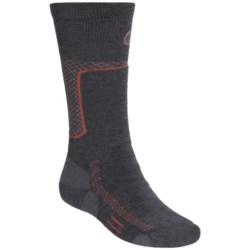 Point6 Ski Midweight Ski Socks - Merino Wool, Over-the-Calf (For Men and Women)