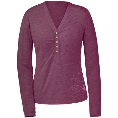 Outdoor Research Frescoe Henley Shirt - Long Sleeve (For Women)
