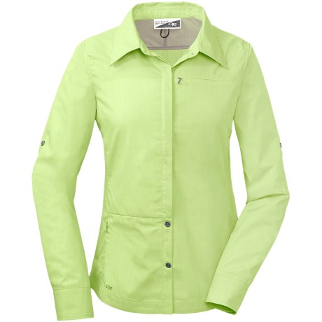 Outdoor Research Sentinel Shirt - Insect Shield®, UPF 15, Long Sleeve (For Women)