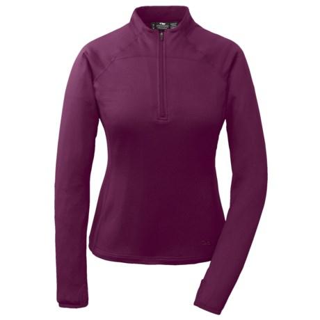 Outdoor Research Radiant LT Fleece Shirt - UPF 15, Zip Neck, Long Sleeve (For Women)