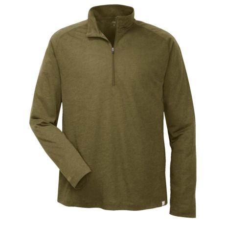 Outdoor Research Sequence Shirt - Merino Wool Blend, Zip Neck, Long Sleeve (For Men)