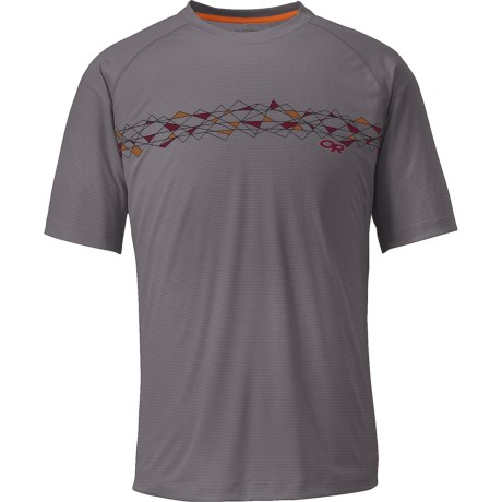 Outdoor Research Echo Graphic T-Shirt - UPF 15, Short Sleeve (For Men)