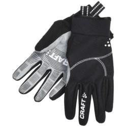 Craft Sportswear Performance Fleece Gloves (For Men and Women)