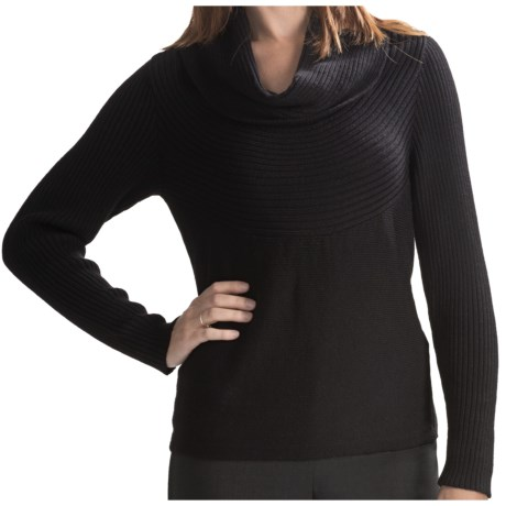 Lafayette 148 New York Deluxe Merino Wool Sweater - Cowl Neck (For Women)