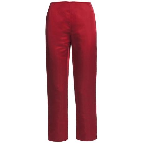 Lafayette 148 New York Reade Duchess Pants - Satin (For Women)