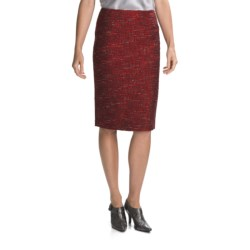Lafayette 148 New York Modern Resplendent Jacquard Skirt - Slim (For Women)