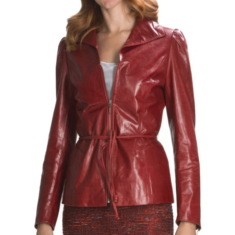 Lafayette 148 New York Milton Neo Calfskin Jacket (For Women)