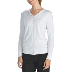 Lafayette 148 New York Glitter Cardigan Sweater - Cashmere-Silk (For Women)