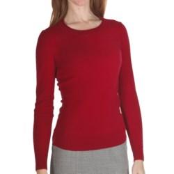 Lafayette 148 New York Cozy Flannel Wool Sweater (For Women)