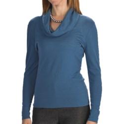Lafayette 148 New York Fine Gauge Merino Wool Sweater - Cowl Neck (For Women)