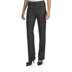 Lafayette 148 New York Linen Menswear Pants (For Women)