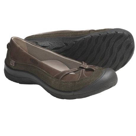 Keen Prescott Ballerina Shoes - Leather (For Women)