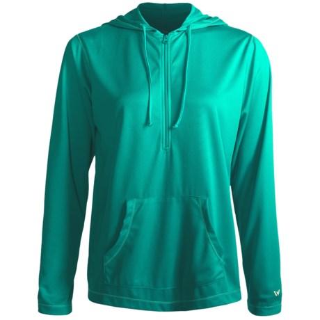 White Sierra Swamp Hoodie Sweatshirt - UPF 20, Insect Shield® (For Women)