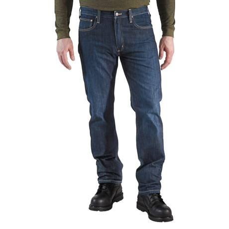 Carhartt Straight-Fit Denim Jeans - Straight Leg, Factory Seconds (For Men)