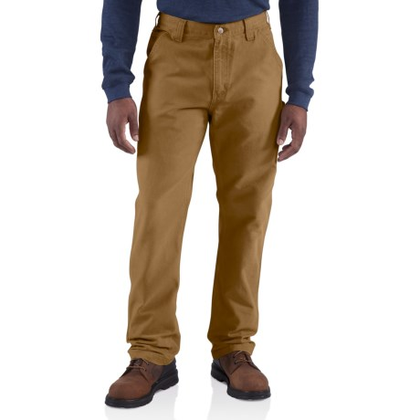 Carhartt Weathered Duck Dungaree Pants - Factory Seconds (For Men)