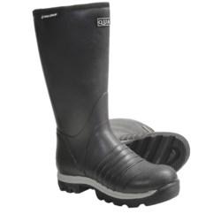 "Skellerup Quatro Rubber Boots - 16"", Insulated (For Men)"