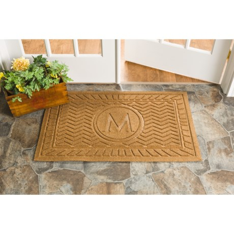 Trapz-It Monogram Doormat - 24x39""