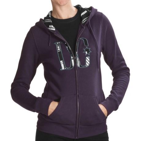 DC Shoes Madie Zip Fleece Hoodie Sweatshirt (For Women)