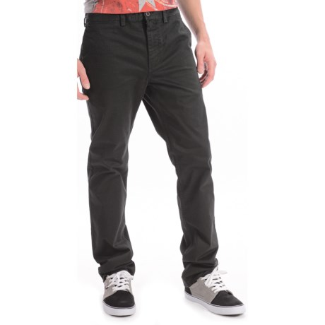 DC Shoes Stretch Cotton Chino Pants - Straight Fit (For Men)